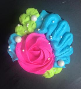 Floral Cupcake 1