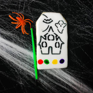 Paint Your Own Haunted House