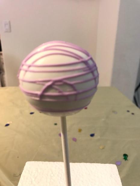 Purple Swirls 2