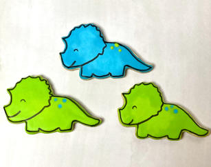Dino Birthday Set