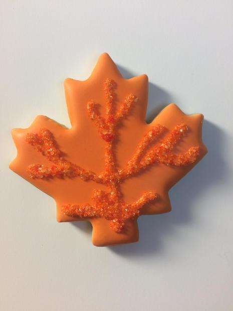 Fall Leaf (orange)