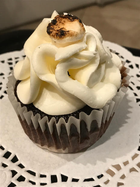 Cupcake with Marshmellow