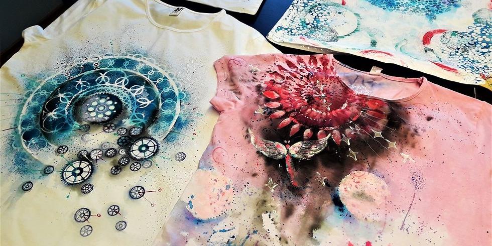 Malování a tvoření na textil s By Terez