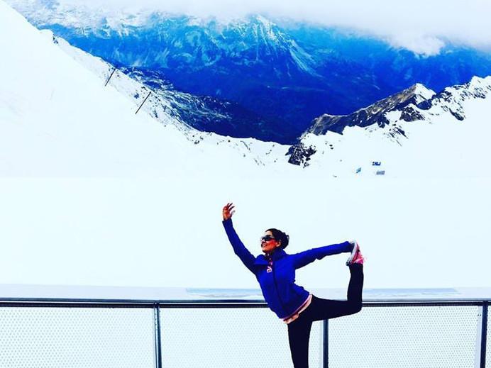 #yogatime #yogaeveryday #yogaeverywhere #ineedmore #letsdance #iloveit #tobe #🙏🏻