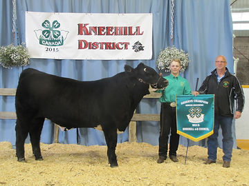 One & Only Steer Swalwell 4-H Club