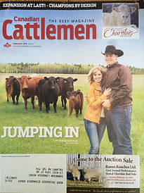 Colin & Tessa Verbeek Canadian Cattlemen Magazine