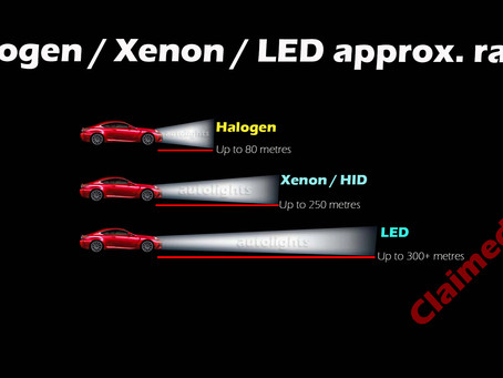 Halogen Vs HID Vs LED – Vs What is everyone talking about?
