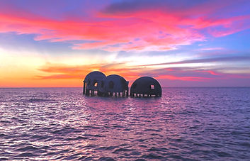 Sunset Dome Houses