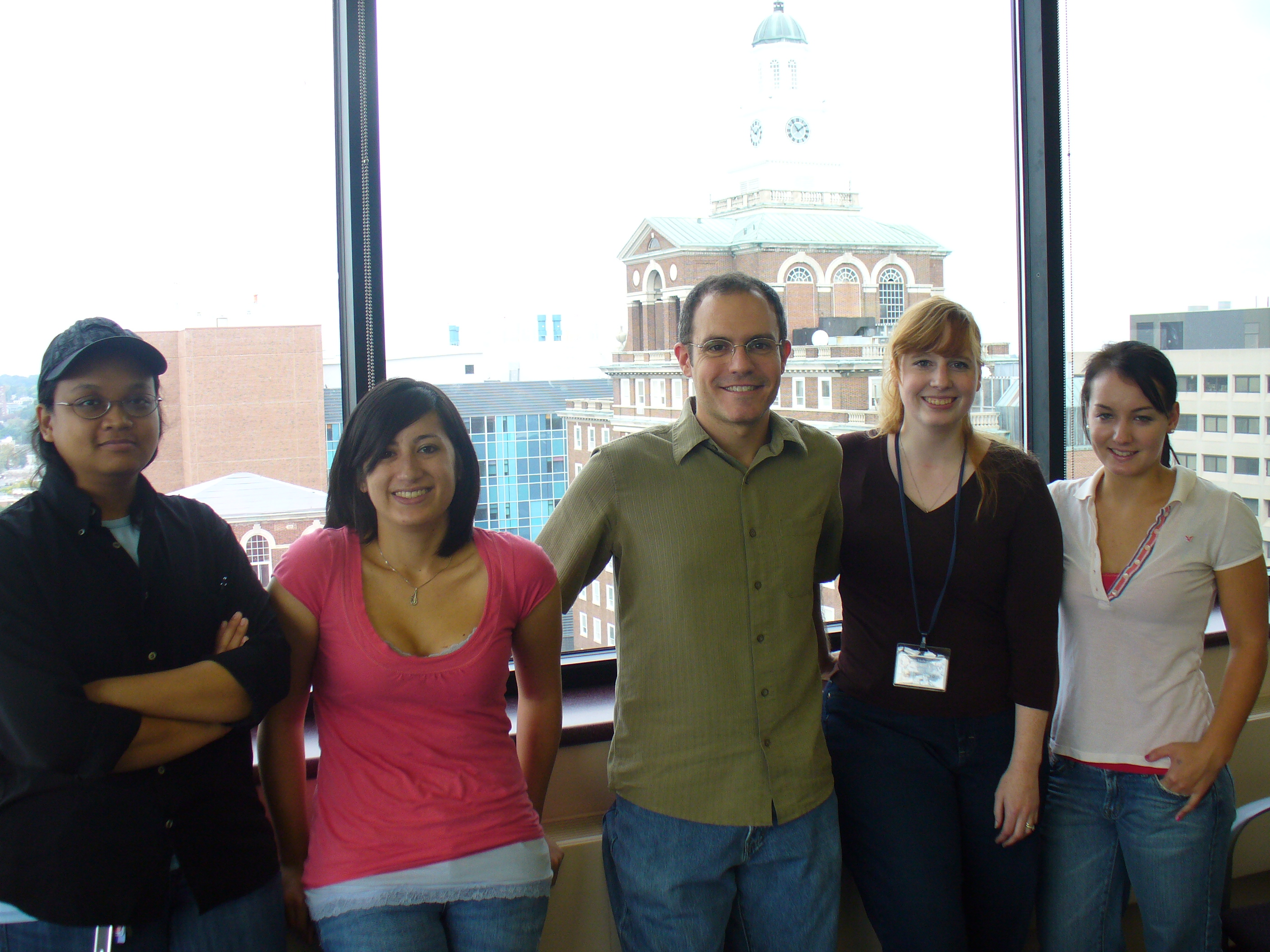 Our first year with Lei Mi Mi, Sam Long, Dave, SarahBeth, and Natalia Filip (2009)