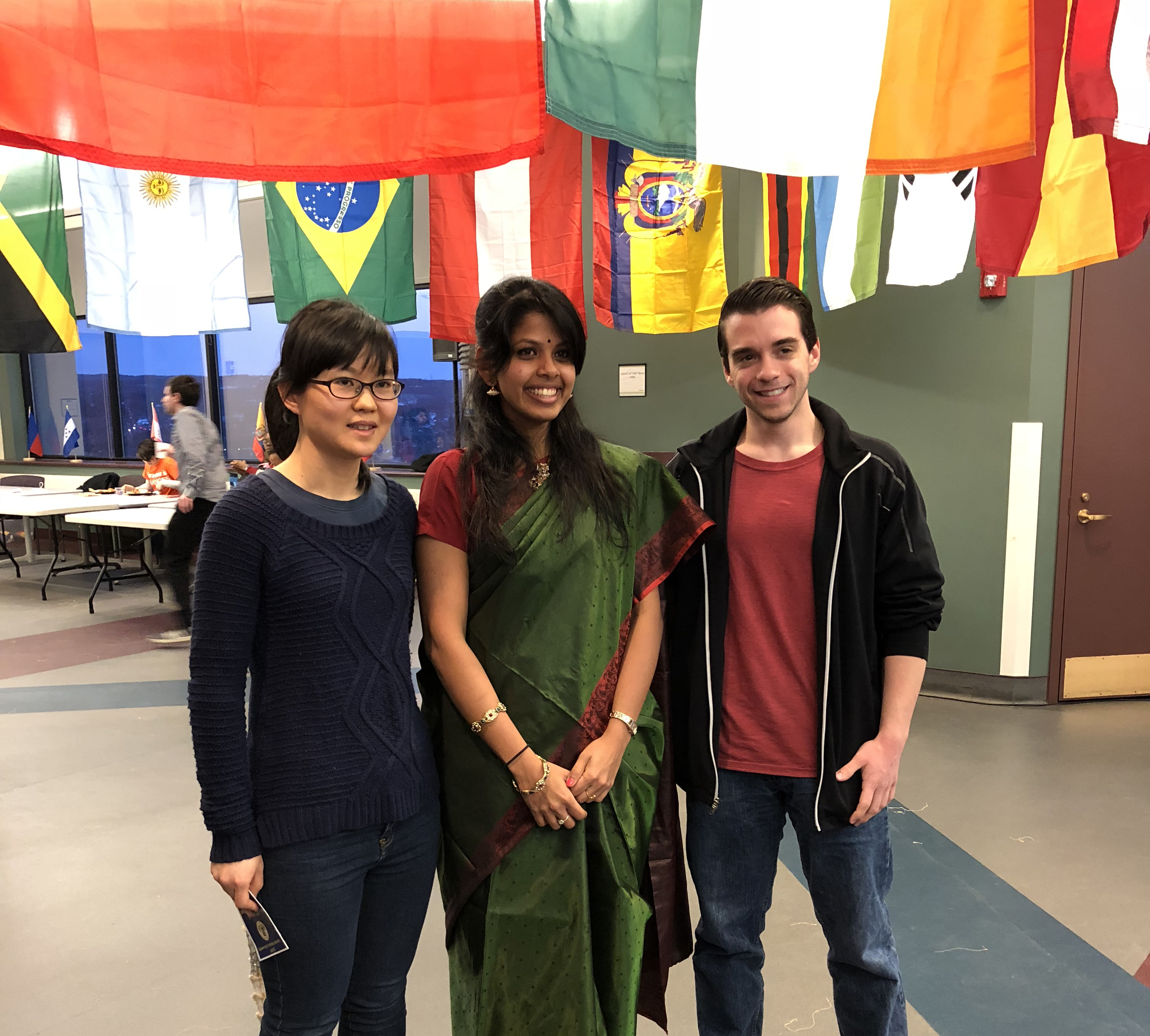 Sumana, coorganized the International Festival hosted by the International Student Association