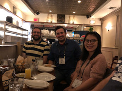 Curtis at Joint Lab Dinner, ASCB Meeting 2017