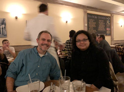 Dave and Lei Mi Mi Joint Lab Dinner, ASCB Meeting 2017