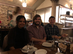 Sumana at Joint Lab Dinner, ASCB Meeting 2017