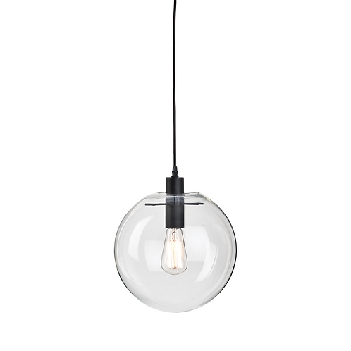 It's about RoMi hanging lamp glass/ globe Warsaw transparent
