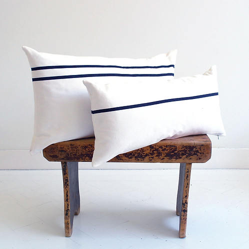ML Fabrics Lex cushion cover