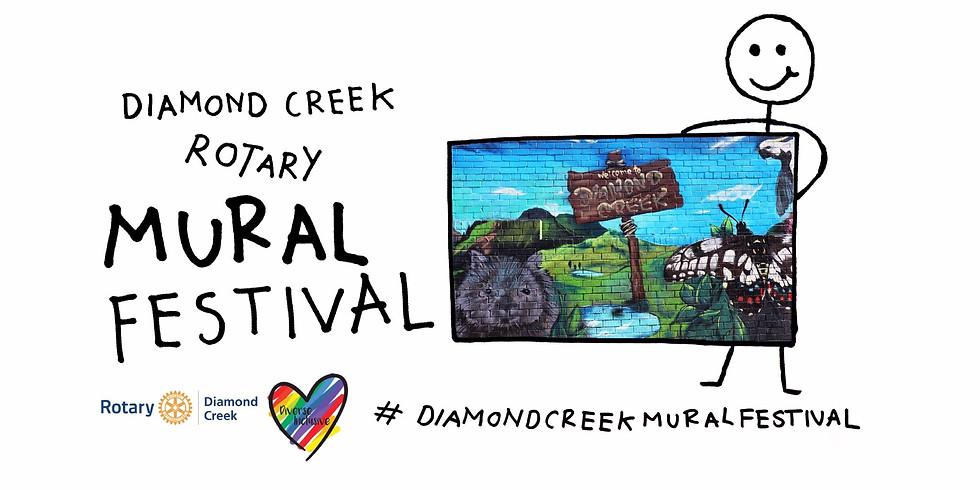 Diamond Creek Rotary Spring Mural Festival