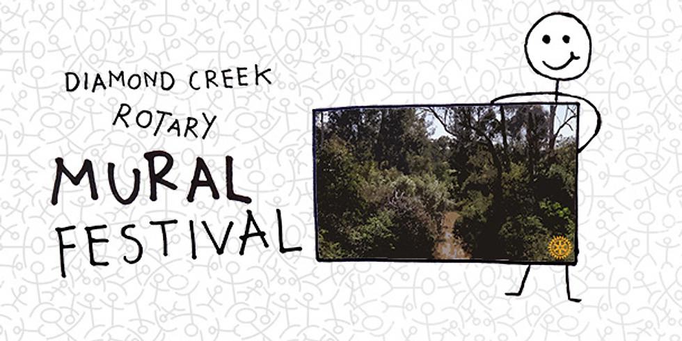 Diamond Creek Rotary Mural Festival
