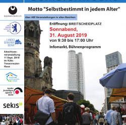 Eröffnung der 45. Berliner Seniorenwoche 2019 auf dem Breitscheidplatz