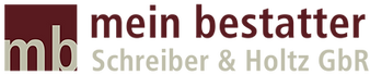 Logo mein bestatter Schreiber &Holtz