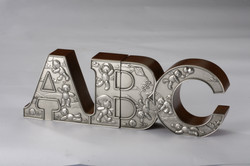 6134R Bookends,ABC