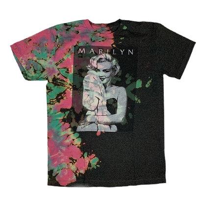 Marilyn Monroe Portrait Reverse Dye Shirt - M