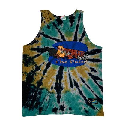 Vintage Hercules Phil the Pain Tie Dye Tank Top - M