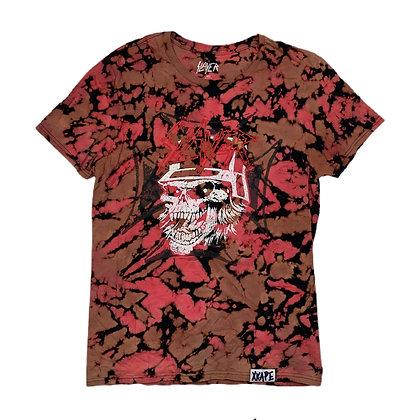 Slayer Skeleton Soldier Reverse Dye Shirt - WS