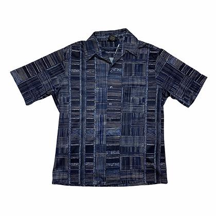 Vintage 70's Joel California Striped Button Front Shirt