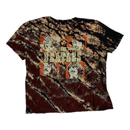 The Beatles Members Reverse Dye Shirt - XL