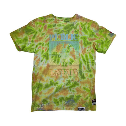Asphalt X Public Enemy Tie Dye Shirt - S