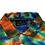 Thumbnail: Vintage Greg Norman Wrap Around Print Tie Dye Polo