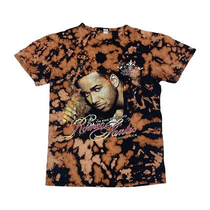 2014 Romeo Santos Tour Bleach Dye Shirt - S