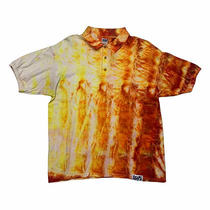 Gildan Blank Tie Dye Polo Shirt