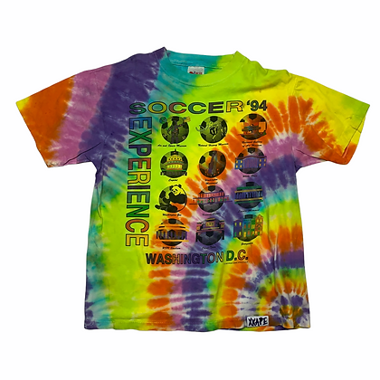 Vintage 1994 Soccer Experience Tie Dye Shirt