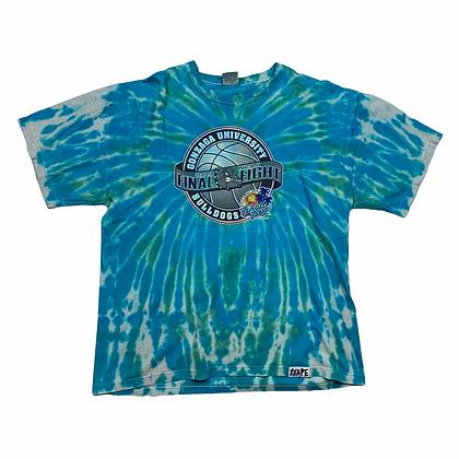 Vintage 1999 Gonzaga Final Four Tie Dye Shirt