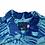 Thumbnail: Vintage 90's Jam World Blue Floral Hawaiian Shirt
