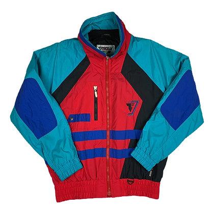 Vintage Tyrolia Color Block L/S Ski Jacket - M