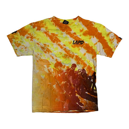 Undefeated LAPD Tie Dye Shirt - S