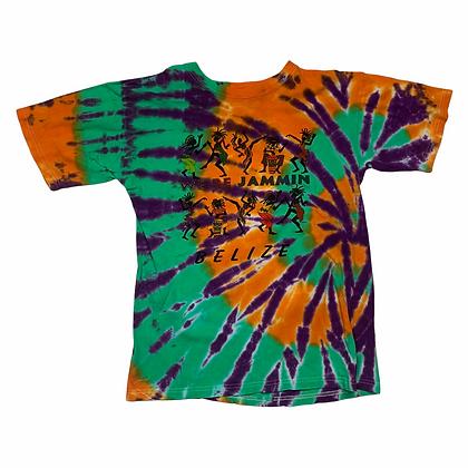 We Be Jammin Belize Tie Dye Shirt