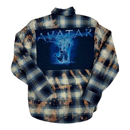 Avatar The Movie Cut & Sew Bleach Dye Flannel - M