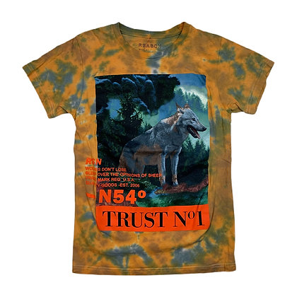 Wolf Trust No 1 Tie Dye Shirt - S