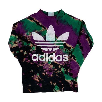 Adidas Trefoil L/S Reverse Dyed Sweatshirt - XS