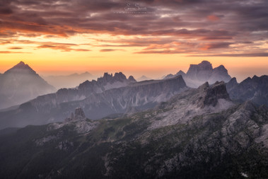 The terrace of the Dolomites