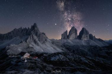 The Magnificent Three Peaks of Lavaredo.