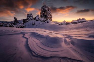 Fiery Snow