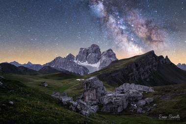 Starry night in Mondeval