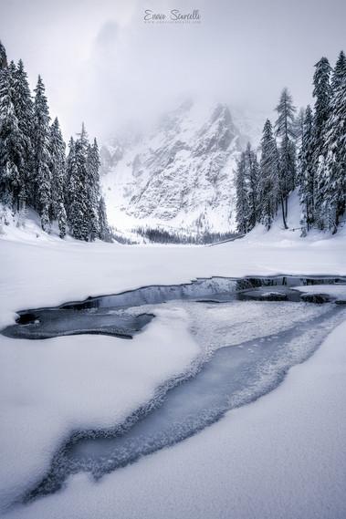 Braies in Winter