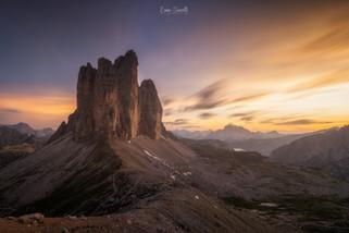 3 Peaks in a long exposure