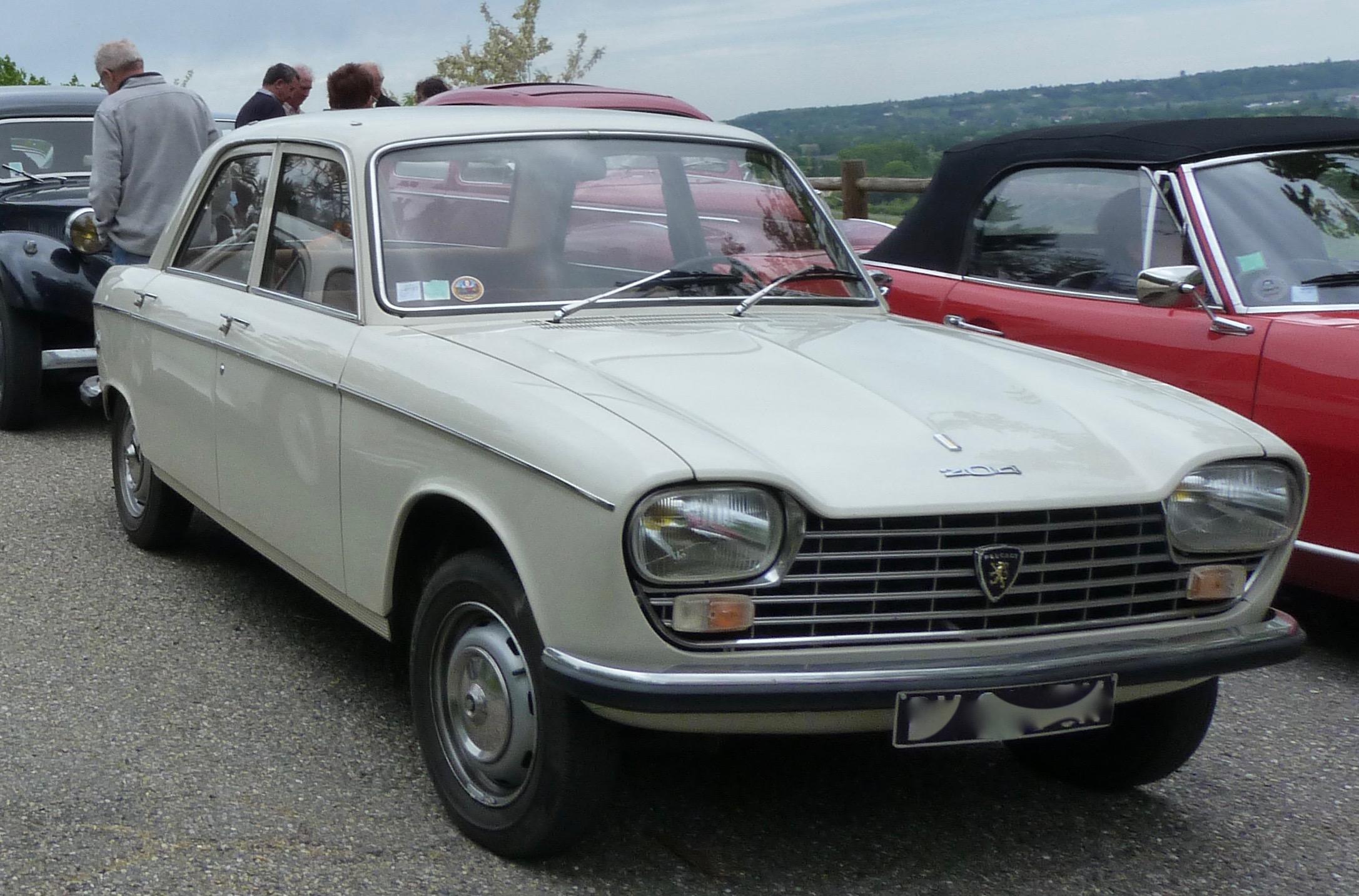 PEUGEOT 204 - 1970