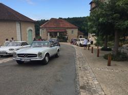 L'arrivée des voitures
